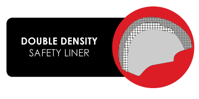 double density safety liner